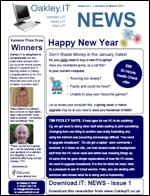 OakleyIT Newsletter Issue 1