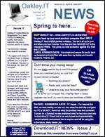 OakleyIT Newsletter Issue 2