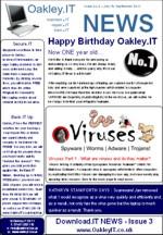 OakleyIT Newsletter Issue 3