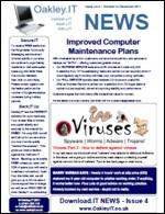 OakleyIT Newsletter Issue 4