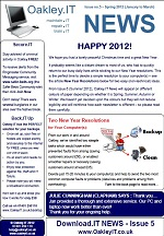 OakleyIT Newsletter Issue 5