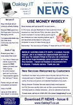 OakleyIT Newsletter Issue 6